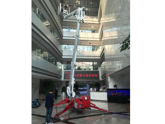 蜘蛛式高空作业平台租赁